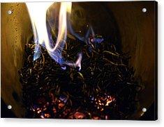 Brushfire 17 Acrylic Print