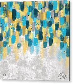 Brushstrokes Acrylic Print