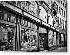 Brussels Toy Store Acrylic Print