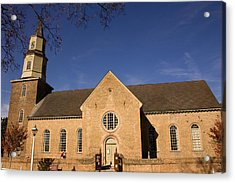 Bruton Parish Church Acrylic Print by Mark Currier