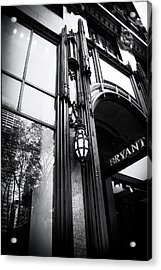 Bryant Park Reflections Acrylic Print