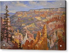 Bryce Canyon Acrylic Print by Lewis A Ramsey