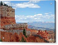 Bryce Canyon Acrylic Print by Nancy Landry