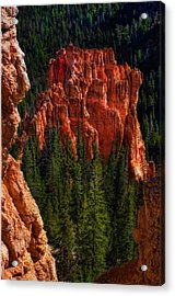 Bryce Canyon Red Rock Acrylic Print