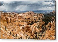 Bryce Canyon Storm Acrylic Print