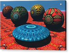 Bryce Kaleidoscope Sampler Acrylic Print by Lyle Hatch