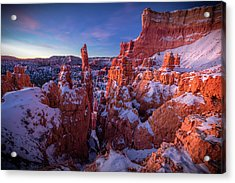 Bryce Tales Acrylic Print by Edgars Erglis