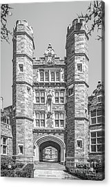 Bryn Mawr College Rockefeller Hall Acrylic Print by University Icons