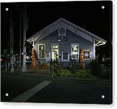 Bryson City Train Station Acrylic Print