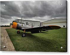 Acrylic Print featuring the photograph Bt-13a Valiant by Linda Unger