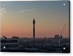 Acrylic Print featuring the photograph Bt Tower by Stewart Marsden