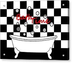 Bubble Bath - Bathroom Decor Acrylic Print