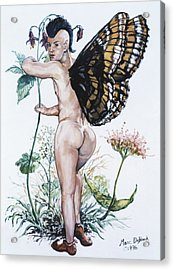 Bubble Butt Fairy Acrylic Print