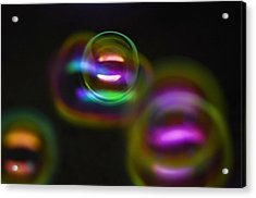 Bubble Magic Acrylic Print