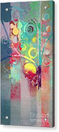 Bubble Tree - 285l Acrylic Print by Variance Collections