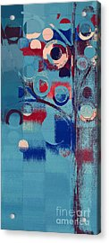 Bubble Tree - 85e-j4 Acrylic Print by Variance Collections