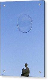 Acrylic Print featuring the photograph Bubbled by Rasma Bertz
