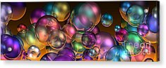 Bubbles Overall Acrylic Print