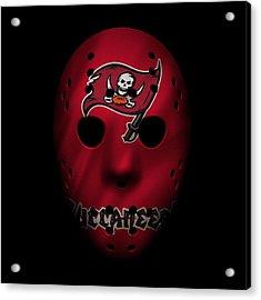 Buccaneers War Mask 3 Acrylic Print