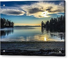 Buck Bay Acrylic Print by William Wyckoff