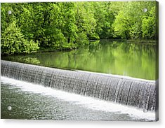 Acrylic Print featuring the photograph Buck Creek Greens by Parker Cunningham