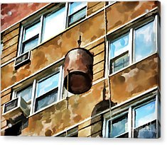 Bucket Acrylic Print by Lanjee Chee