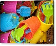 Buckets And Spades Acrylic Print