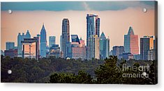 Buckhead Atlanta Skyline Acrylic Print