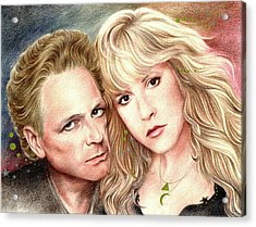 Buckingham Nicks Acrylic Print