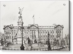 Buckingham Palace Acrylic Print by Vincent Alexander Booth