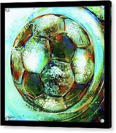 Buckminster Acrylic Print by Shevon Johnson