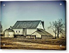 Bucks County Farm Acrylic Print by Bill Cannon