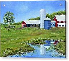 Bucks County Farm Acrylic Print