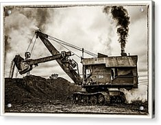 Bucyrus Erie Shovel Acrylic Print by Paul Freidlund