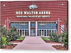 Bud Walton Arena Acrylic Print