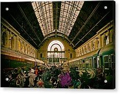 Budapest Keleti Railway Station Acrylic Print