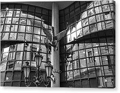 Budapest Reflections Acrylic Print