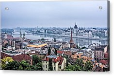 Budapest The Hidden Treasure Chest Acrylic Print