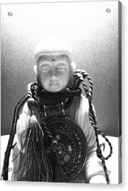 buddh IX  Acrylic Print by Vah Pall