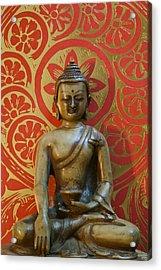 Buddha 2 Acrylic Print by Edward Myers