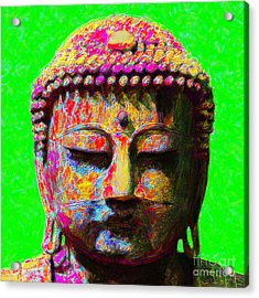 Buddha 20130130m100 Acrylic Print by Wingsdomain Art and Photography