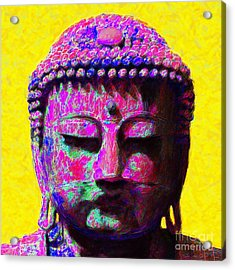 Buddha 20130130m168 Acrylic Print by Wingsdomain Art and Photography