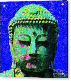 Buddha 20130130p18 Acrylic Print by Wingsdomain Art and Photography