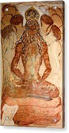 Buddha Body Acrylic Print by Brian c Baker