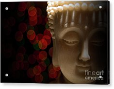 Buddha Acrylic Print by Brian Jones