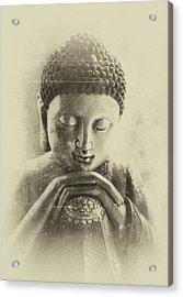 Buddha Dream Acrylic Print by Madeleine Forsberg