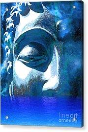 Buddha Emergence Acrylic Print by Khalil Houri