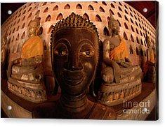 Buddha Laos 1 Acrylic Print by Bob Christopher