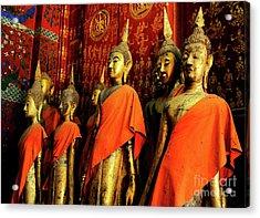 Buddha Laos 2 Acrylic Print by Bob Christopher