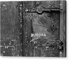 Buddha Acrylic Print by Laurie Stewart